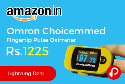 Omron Choicemmed Fingertip Pulse Oximeter
