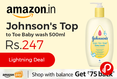 Johnson's Top to Toe Baby wash 500ml
