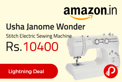 Usha Janome Wonder Stitch Electric Sewing Machine