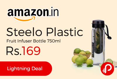 Steelo Plastic Fruit Infuser Bottle 750ml