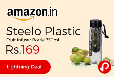Steelo Plastic Fruit Infuser Bottle 750ml