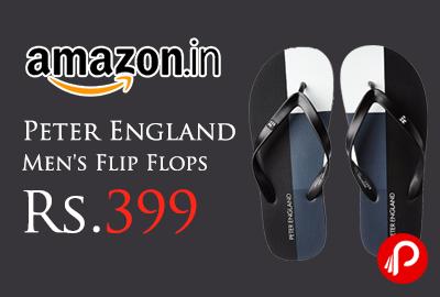 Peter England Men's Flip Flops