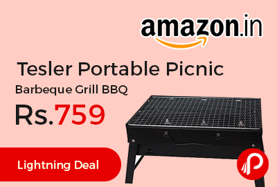 Tesler Portable Picnic Barbeque Grill BBQ