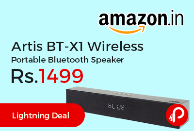 Artis BT-X1 Wireless Portable Bluetooth Speaker