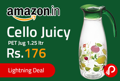 Cello Juicy PET Jug 1.25 ltr