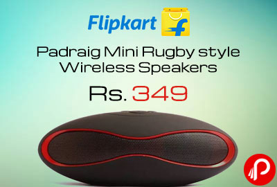 Padraig Mini Rugby style Wireless Speakers