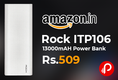 Rock ITP106 13000mAH Power Bank